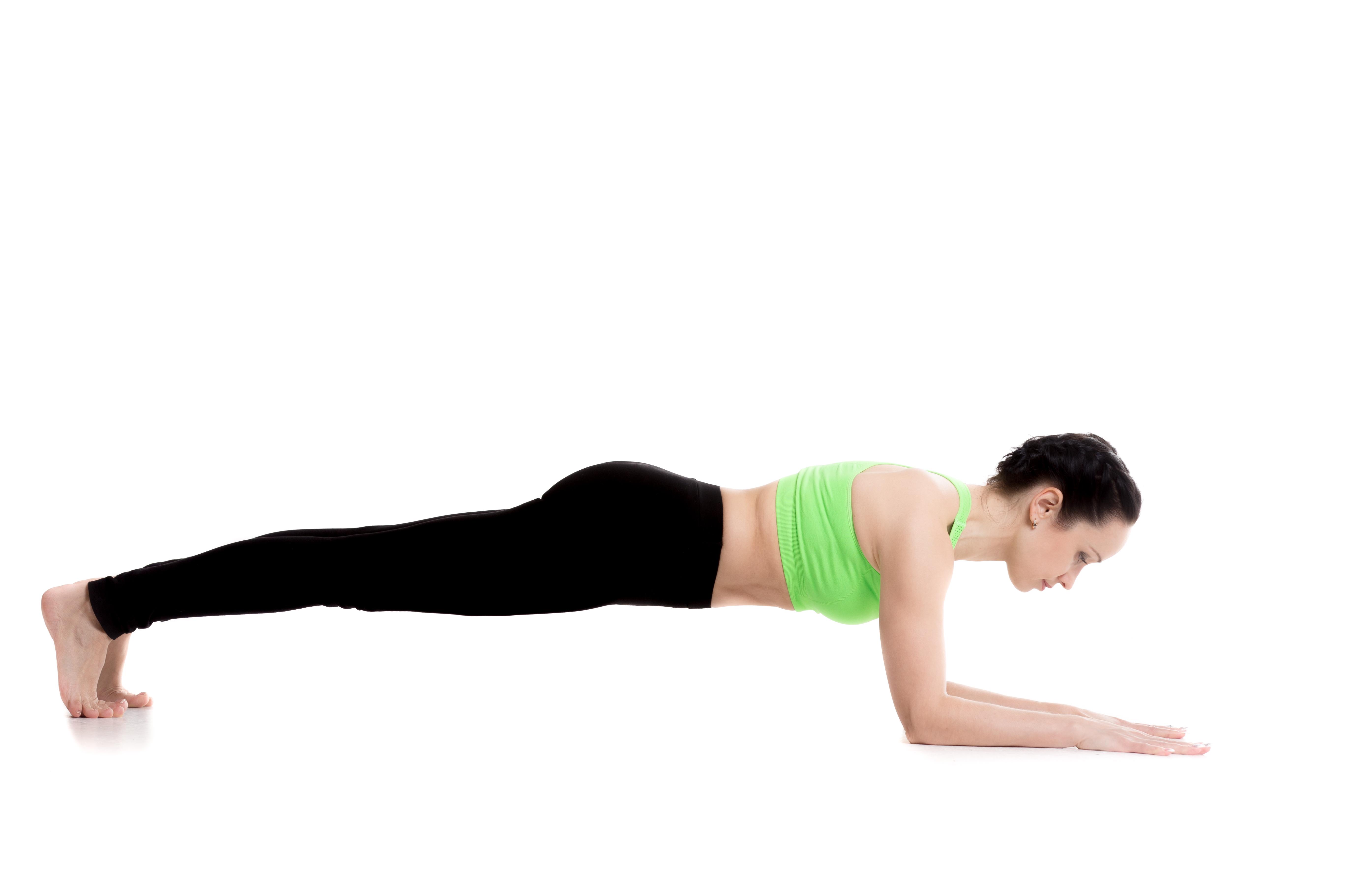 Dolphin Plank yoga pose
