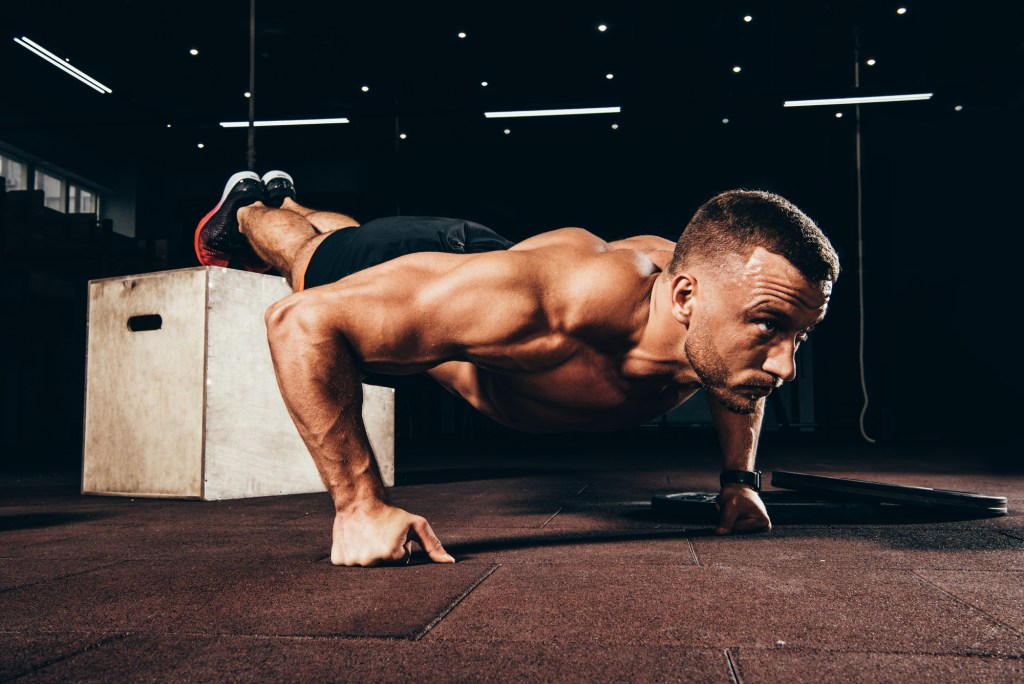 Bodyweight exercises when no gym