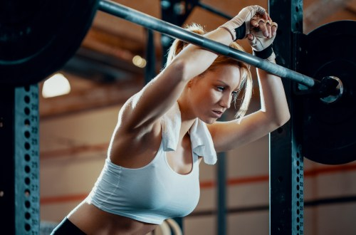 Rate of perceived exertion done by woman at the gym