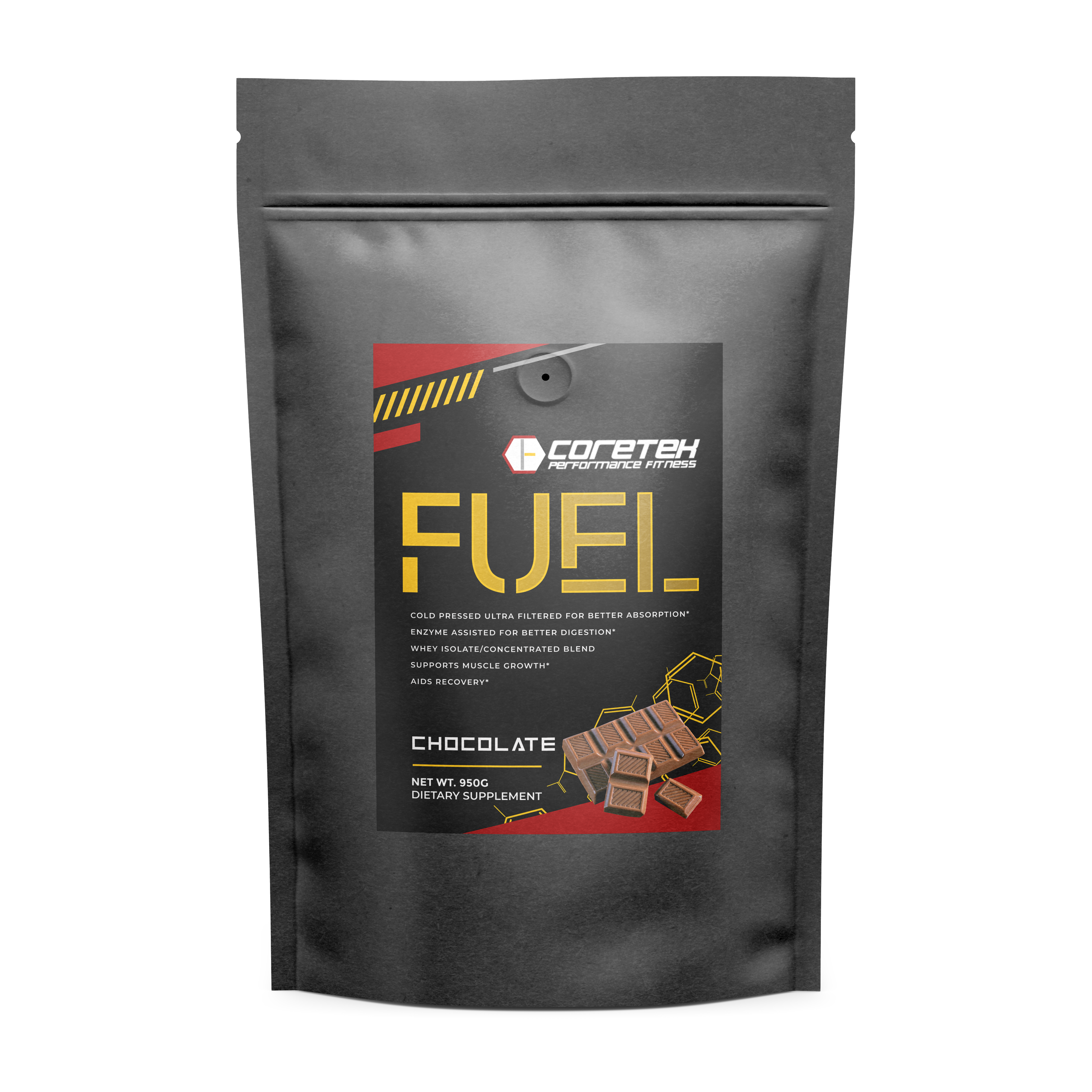 energy and stamina to support muscle growth